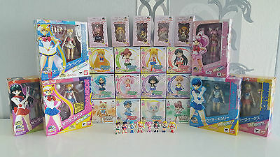 30+ Sailor Moon Figuarts Banpresto Atsumete Petit Chara Twinkle Dolly Figur Doll