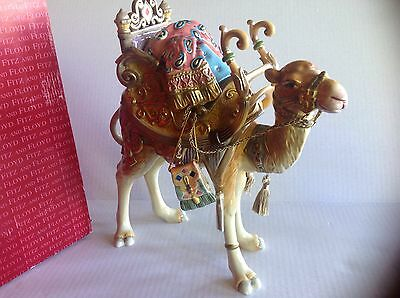 Fitz and Floyd  Classic Nativity Nubian Standing Camel Figure New 19/206