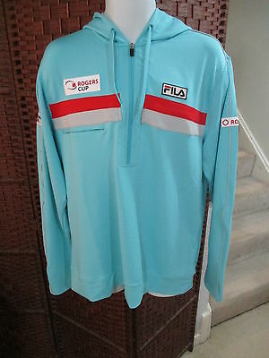 Fila Rogers Cup Pullover Jacket Hoodie Tennis Shirt Size Adult Large Canada