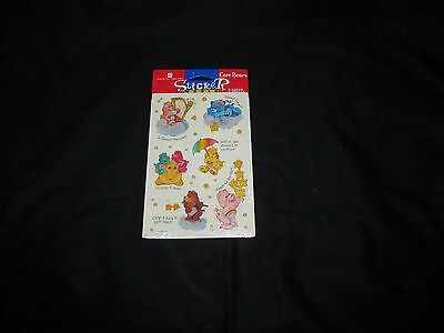 Vintage Care Bear Stickers 1998 American Greetings 2 sheets