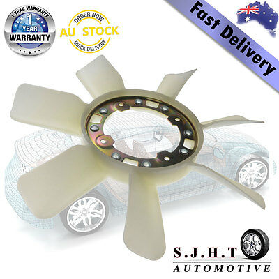 Cooling Radiator Fan Blade for Toyota Hilux LN106 LN107 LN111 LN130 88-99 Diesel