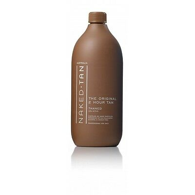 "NAKED TAN Professional 2HR 10% ""Tanned"" 1 Litre"