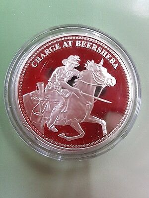 Charge at Beersheba Maquarie Mint Silver Coin Medellion