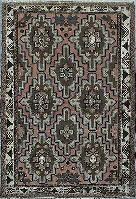 Beautiful hand knotted Afghan baluch rug / oriental rug 100% wool