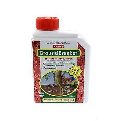 Ground Breaker Soil Treatment and Clay Breaker Concentrate Multicrop 500ml