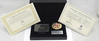 London Mint Concorde Queen Of The Skies Commemorative Medal - FREE UK POSTAGE!!