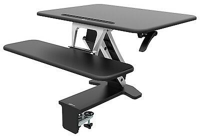 CrystalTec OF103DM Height Adjustable Sit Stand Standing Desk - 80cm x 52cm