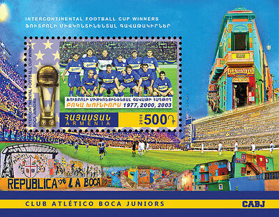 Armenia MNH** 2016 Boca Juniors Sport Intercontinental Football Cup Copa NEW