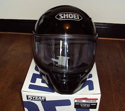 SHOEI XR1100 black full face motorcycle, motorbike helmet size m