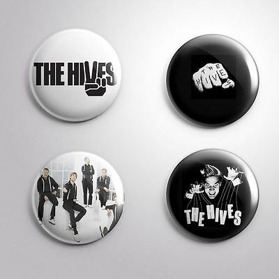 4 THE HIVES - Pinbacks Badge Button Pin 25mm 1''