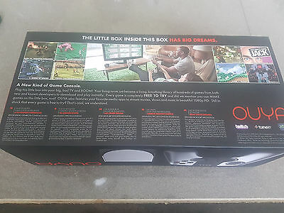 New Sealed Silver OUYA 8GB Game Console