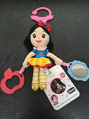 New With Tags - Disney Princess - Snow White Clip And Go Stroller Doll Toy Baby