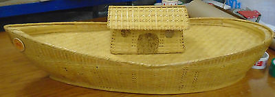 19 ~ Rare ~ Steiff ~ Limited Edition ~ Wicker ~ Noah's ~ Ark~ Arche ~ Charity ~