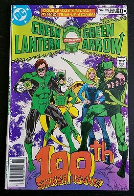 GREEN LANTERN #100 (1978 D.C.) *1st APP. OF AIR WAVE 2* VF/VF+
