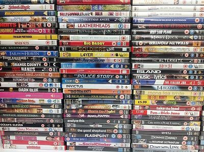 Job Lot of 100 mixed Film, Music, TV DVDs - Perfect for car Boot/Resale