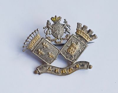1917 WW1 Vintage Military ARRAS Battlefield France Sweetheart Badge Pin Brooch