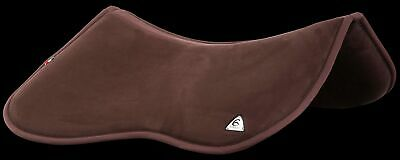 Acavallo Memory Foam Half Pad with Rear Riser