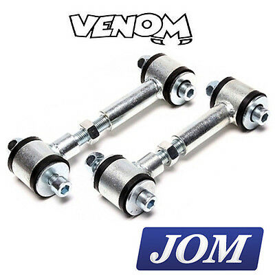 JOM Short Adjustable Front Drop Links Lowered Cars (120-160mm) (M10x1.5) 740227