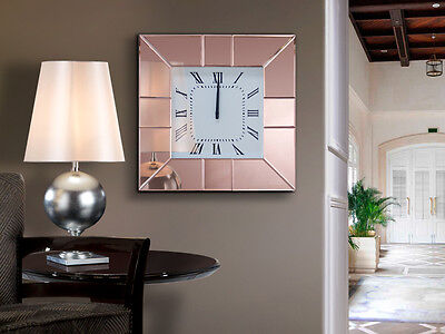 Schuller 395741 Reloj de pared ROSE  50x50