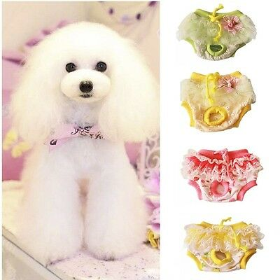 Female Pet Dog Puppy Sanitary Pants Short Physiological Panty Diaper Underwear