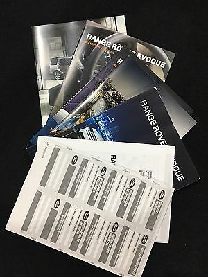 Brand New Range Rover Evoque Owners HandBook And Leather Wallet *french*