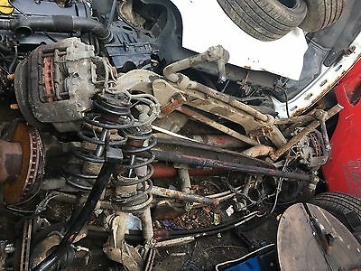IVECO TECTOR / Cargo Front Axle Complete With Calipers