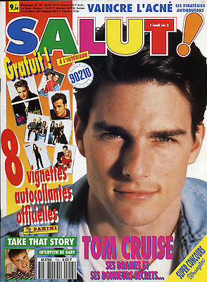 Magazine SALUT n°153, Tom CRUISE, 90210, DURAN DURAN, Pascal OBISPO, ACE of BASE