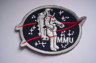 Nasa Aufnäher/Patch  MMU  ca 10 cm