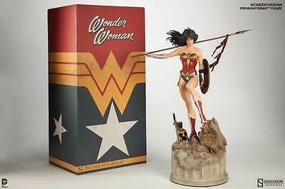 NEW!! SIDESHOW Wonder Woman Premium Format STATUE! Worldwide shipping!!