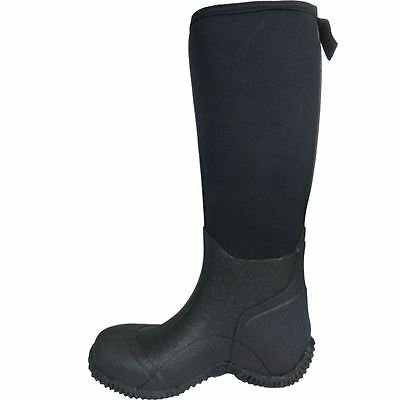 Ladies Mens Warm Rubber Rain Rubber Muck Boots All Sizes Waterproof Thermal Moon