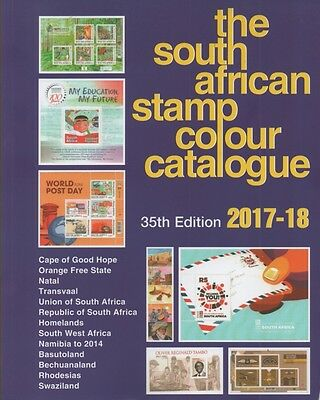 Stamp Catalogue SOUTH AFRICAN colour catalogue 2017/18 edition