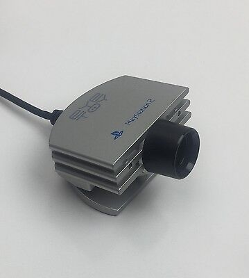 PlayStation 2 Genuine Official Silver Eye Toy Camera