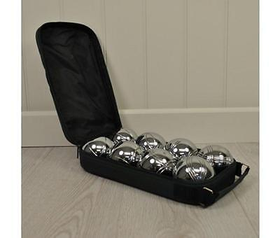 Kingfisher Steel French Boules Set (Petanque) in Bag