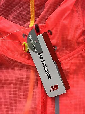 BNWT - New Balance Women's Ladies Lite Packable Running Fitness Jacket