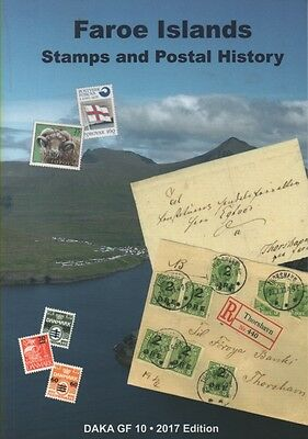 Stamp Catalogue DAKA Faroes Specialised 2017 edition - just published