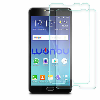 """2x Tempered Glass Film Screen Protector For Vodafone Smart Ultra 7 5,5"""""""