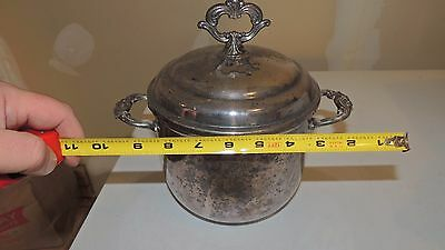 Silverplate 9 inch tall by 6 inch ICE BUCKET by TOWLE
