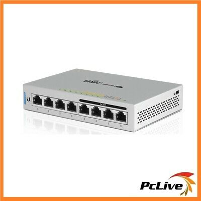 Ubiquiti 8-Port Fully Managed Gigabit Switch with 4-Port POE 60W US-8-60W