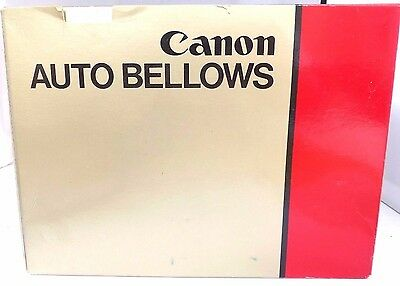 Canon Auto Bellows For Canon FD System Inc Canon Twin Cable Release.