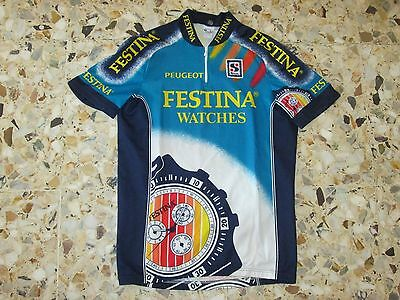 Maillot ancien cyclisme cycling velo equipe team FESTINA 1995 VIRENQUE SIBILLE