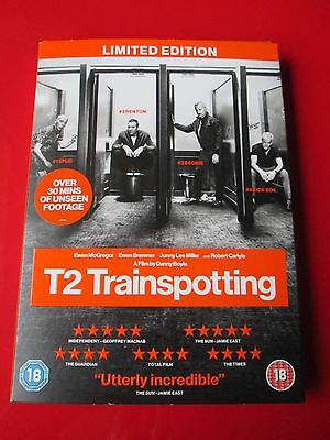 T2 Trainspotting Region 2 DVD Played Once with UV Code