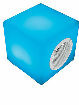 Kitsound Glow Colour Changing Wireless Remote Control Bluetooth Portable Speaker