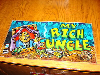 My Rich Uncle  Casino Slot Glass      Man Cave Glass