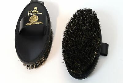 Leather Backed Mexican Fibre Mix Body Brush