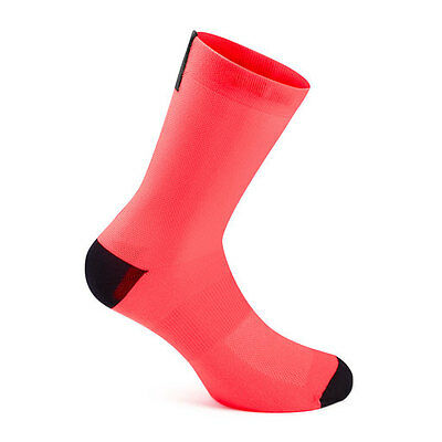 Rapha Pro Team Cycling Socks Coral  - Size: Large  - Length: Short  BNWT
