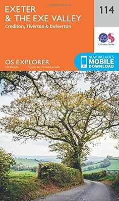 Exeter and the Exe Valley (OS Explorer Map) New Map Book Ordnance Survey