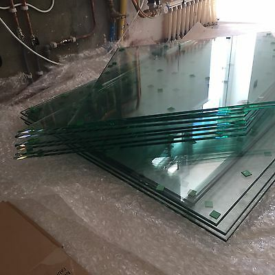 Toughened Glass panels Cut to Size Frosted Laminated or Clear