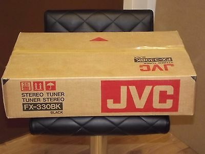 JVC FX-330 BK AM FM Stereo Tuner Brand New In Box