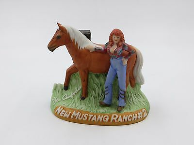 1985 Captain Dugs Nevada Brothel Ceramic Decanter #25 NEW MUSTANG RANCH #2