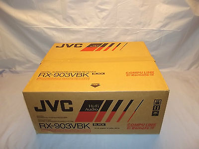 JVC RX-903VBK Stereo Receiver Amplifier Made in Japan New in Box